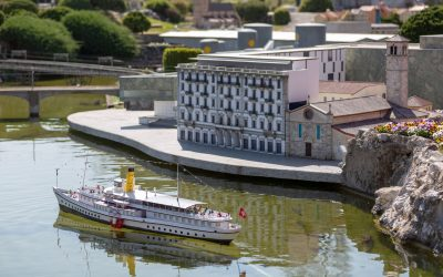 By boat to the Swissminiatur