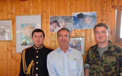 I cadetti della Scuola di Musica Militare in visita al parco!